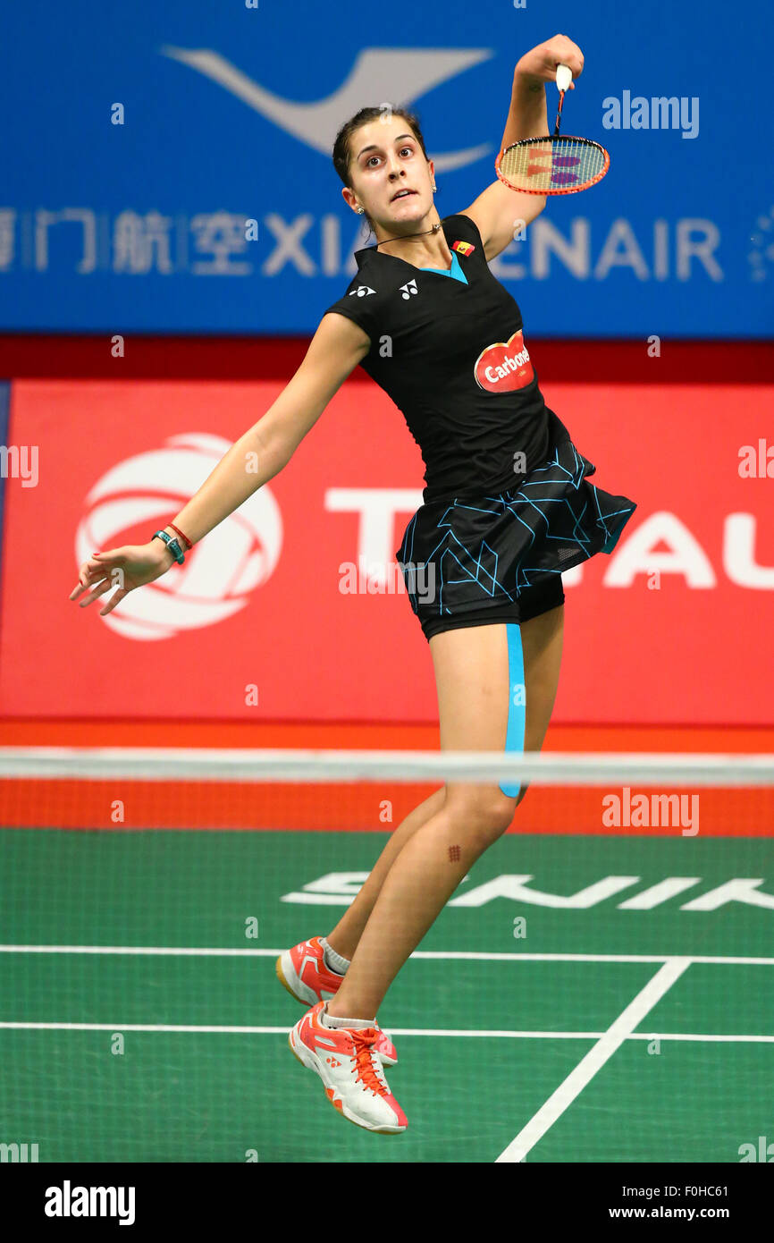Carolina Marin ESP AUGUST 15 2015 Badminton TOTAL BWF