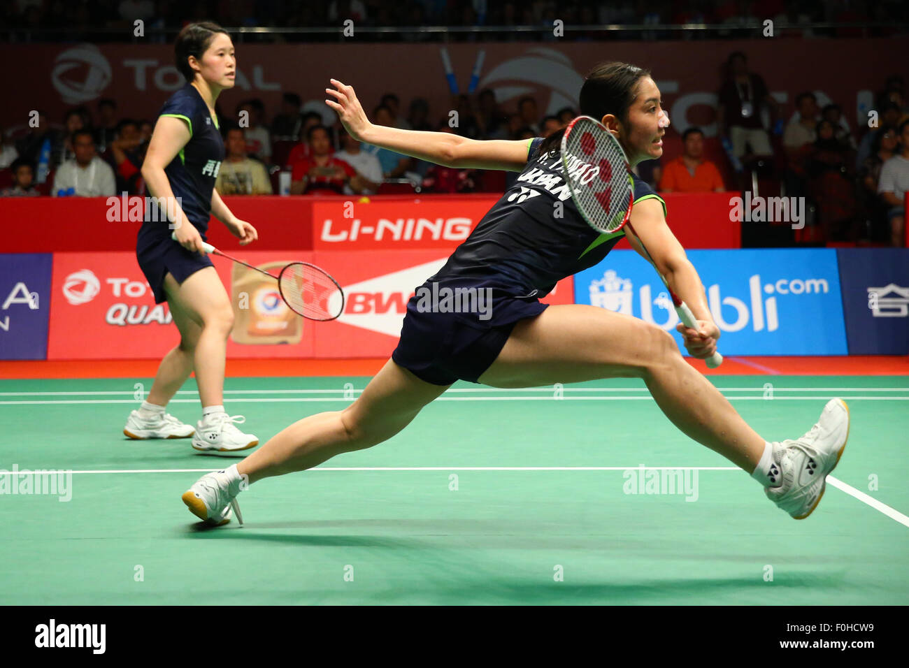 Istora Senayan Arena Jakarta Indonesia 15th Aug 2015 Naoko