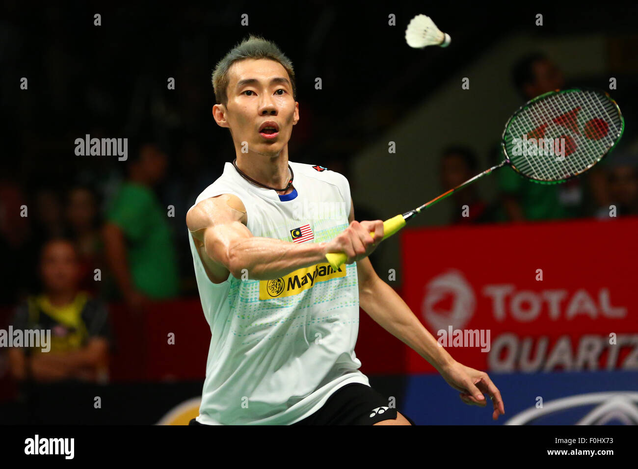 Istora Senayan Arena Jakarta Indonesia 16th Aug 2015 Lee
