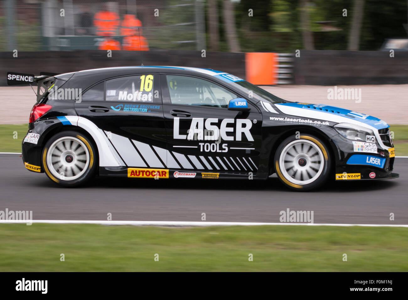 Aiden Moffat At Druids In Team Laser Tools Racing Mercedes ...