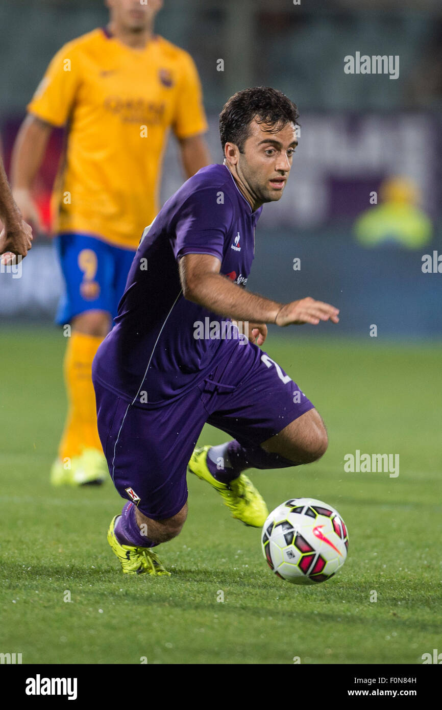 Florence Italy 2nd Aug 2015 Giuseppe Rossi Fiorentina Stock
