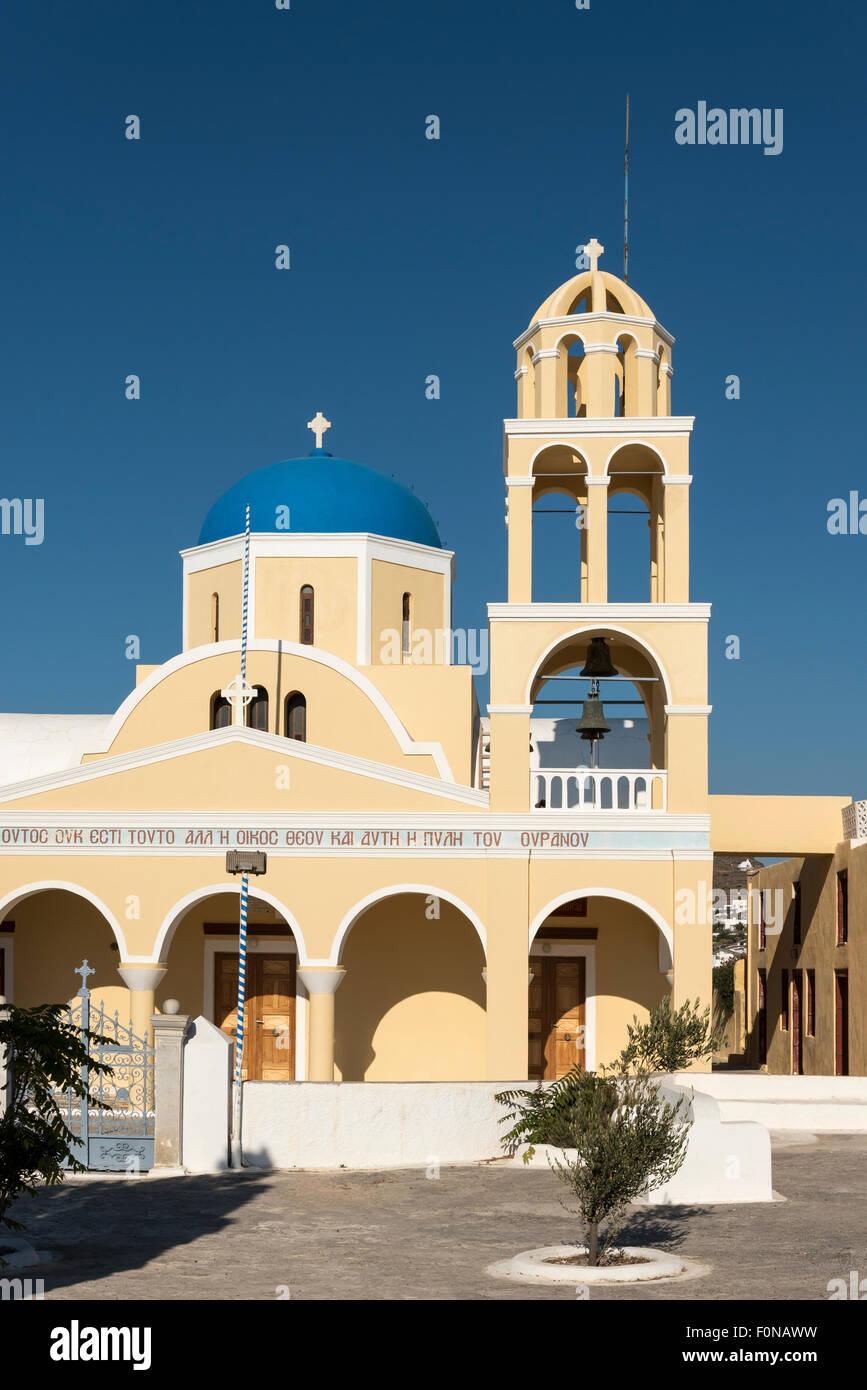 St. George - Agios Georgios - Church, Oia, Santorini ...
