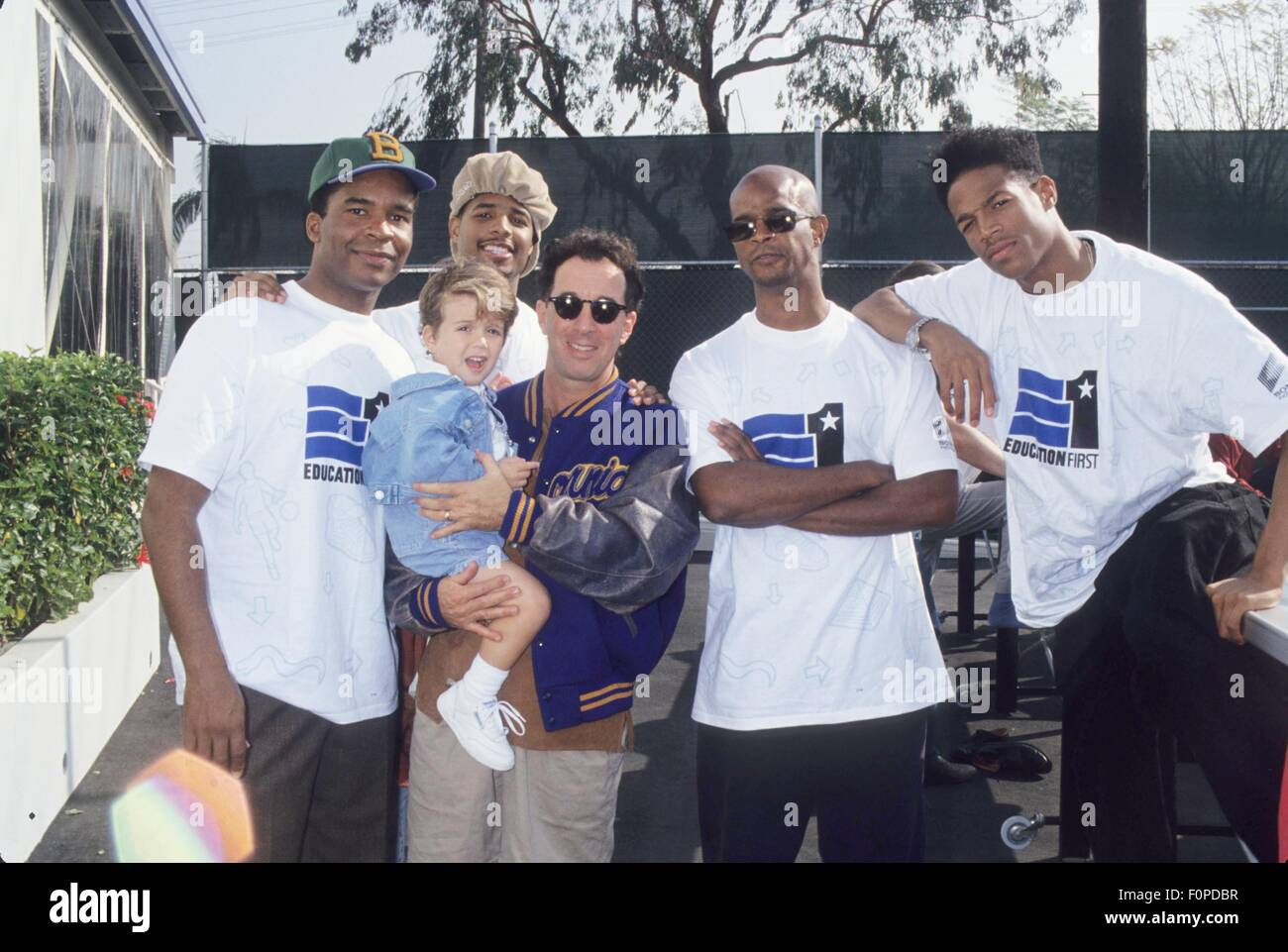 david alen grier with shawn wayans mark canton and son
