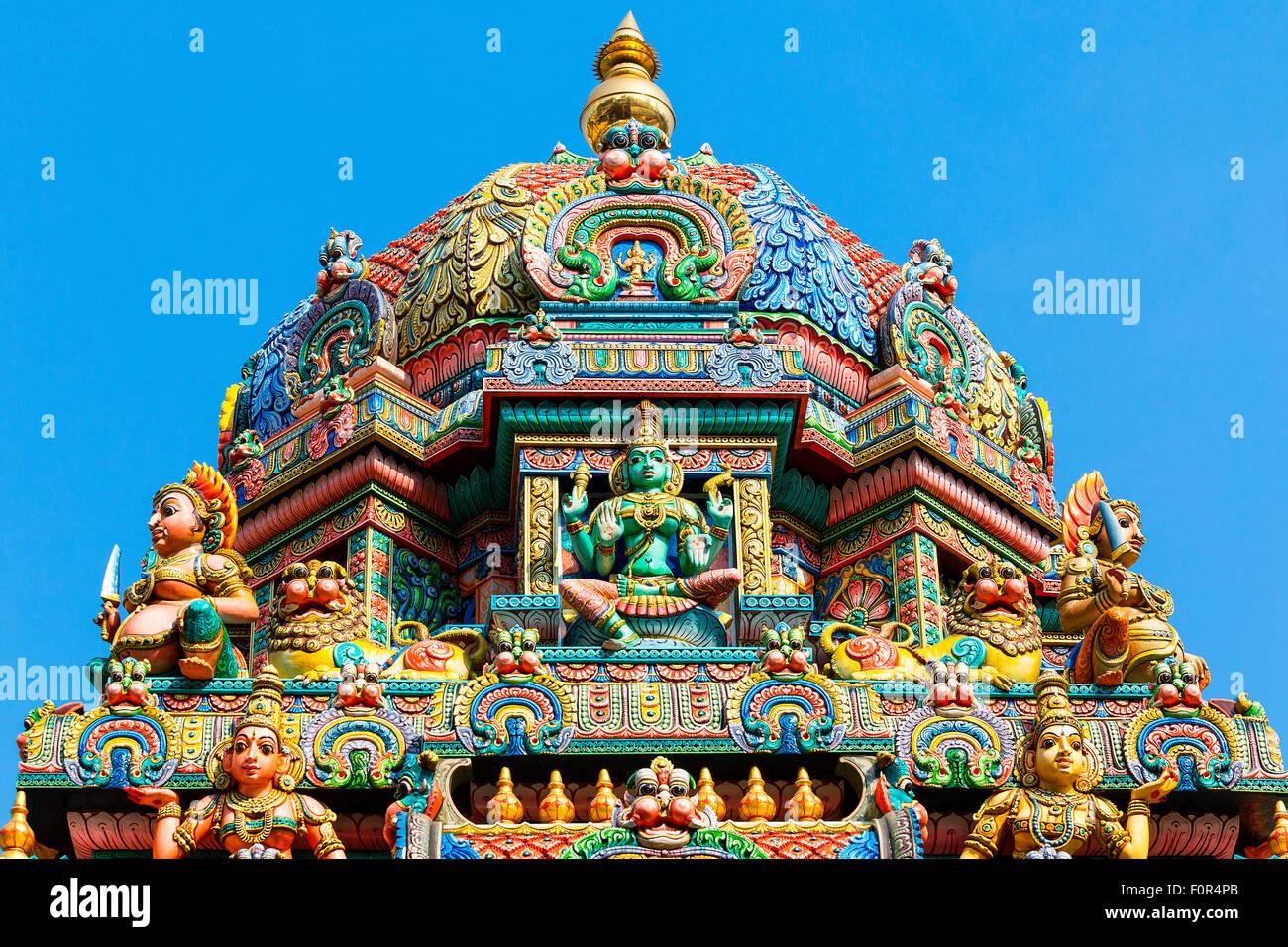 Thailand, Bangkok, Sri Maha Mariamman temple Stock Photo, Royalty Free Image:...