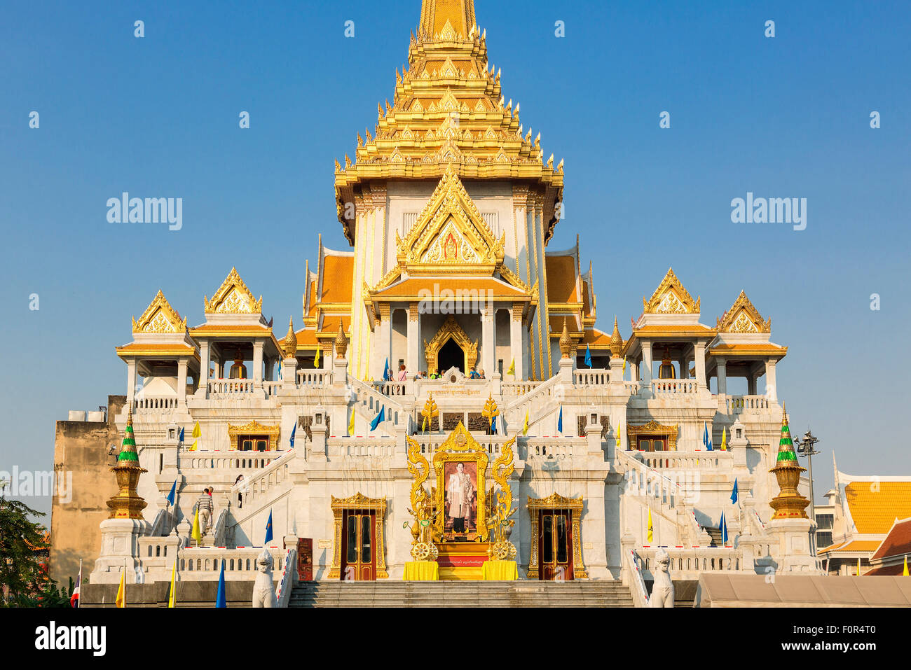Thailand, Bangkok, Wat Traimit, Temple of the Golden ...