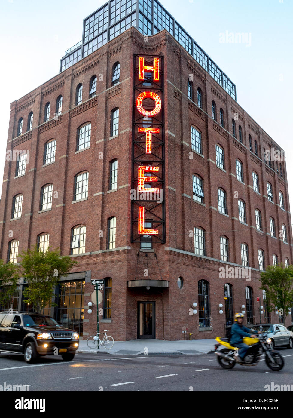 New york city usa front hipster hotel in renovated for Hipster hotel