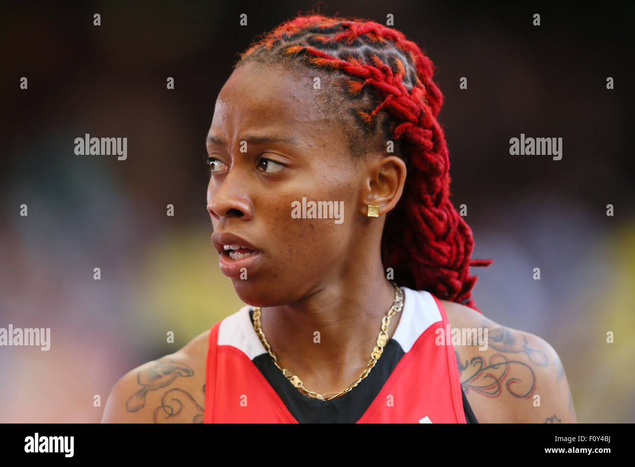 <b>Michelle-Lee</b> Ahye (TTO) Athletics : 15th IAAF World Championships in ... - beijing-china-23rd-aug-2015-michelle-lee-ahye-tto-athletics-15th-iaaf-F0Y4BJ