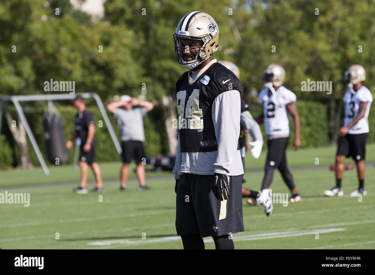 August 23 2015 New Orleans Saints defensive end Cameron Jordan