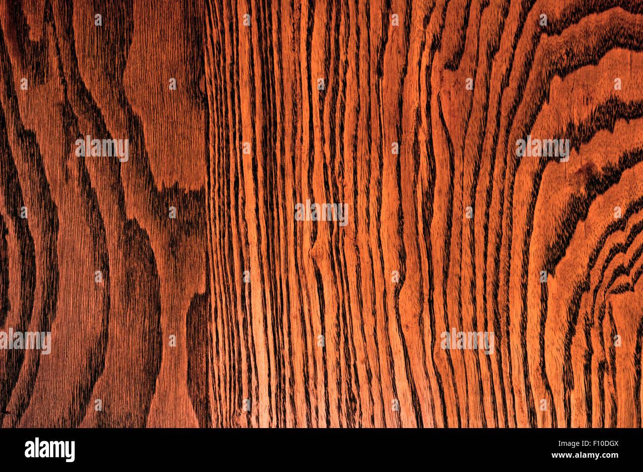 Tiger Oak Wood Grain Texture Stock Photo Royalty Free