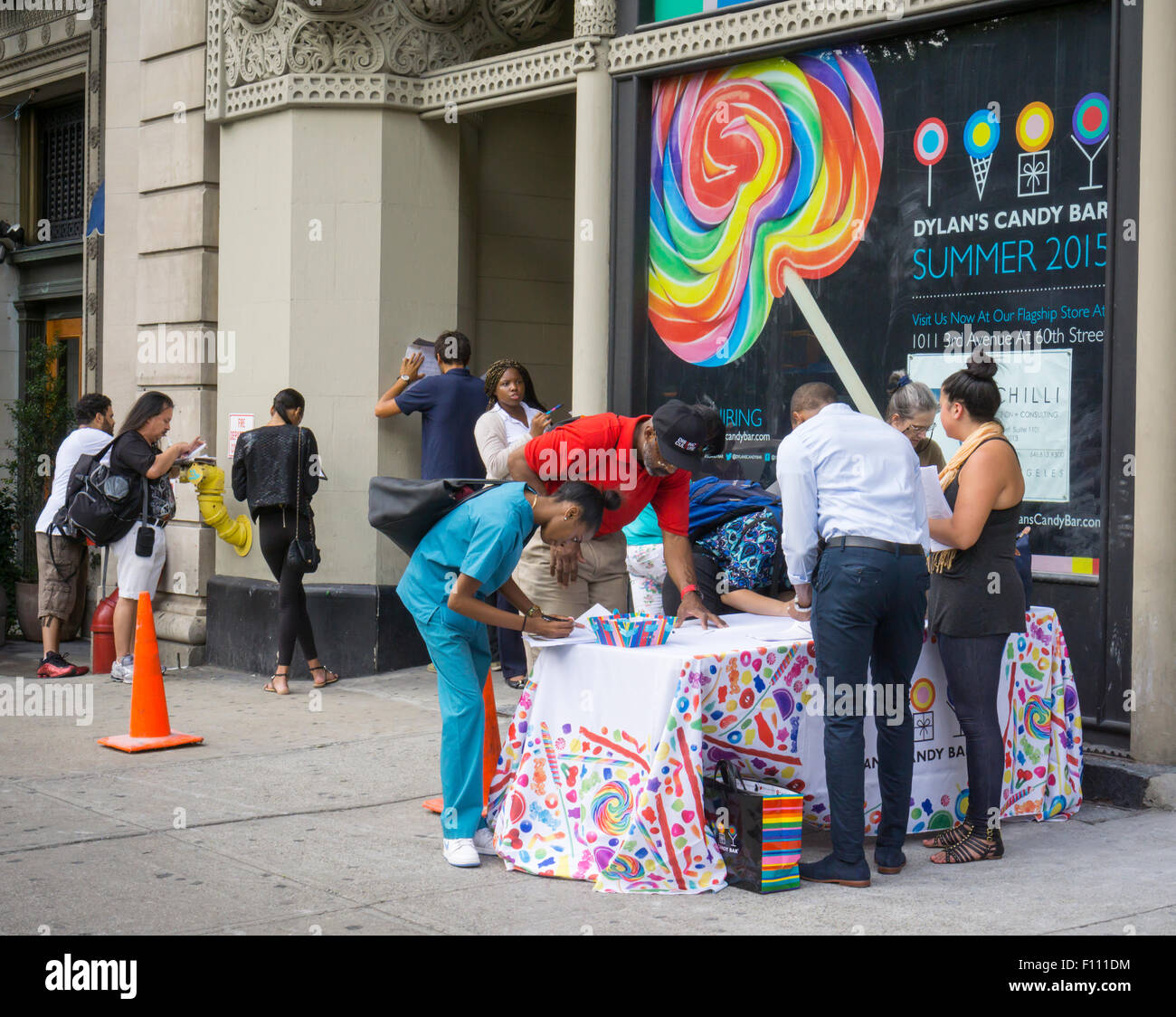 prospective employees for dylan s candy bar s union square store prospective employees for dylan s candy bar s union square store fill out applications in front