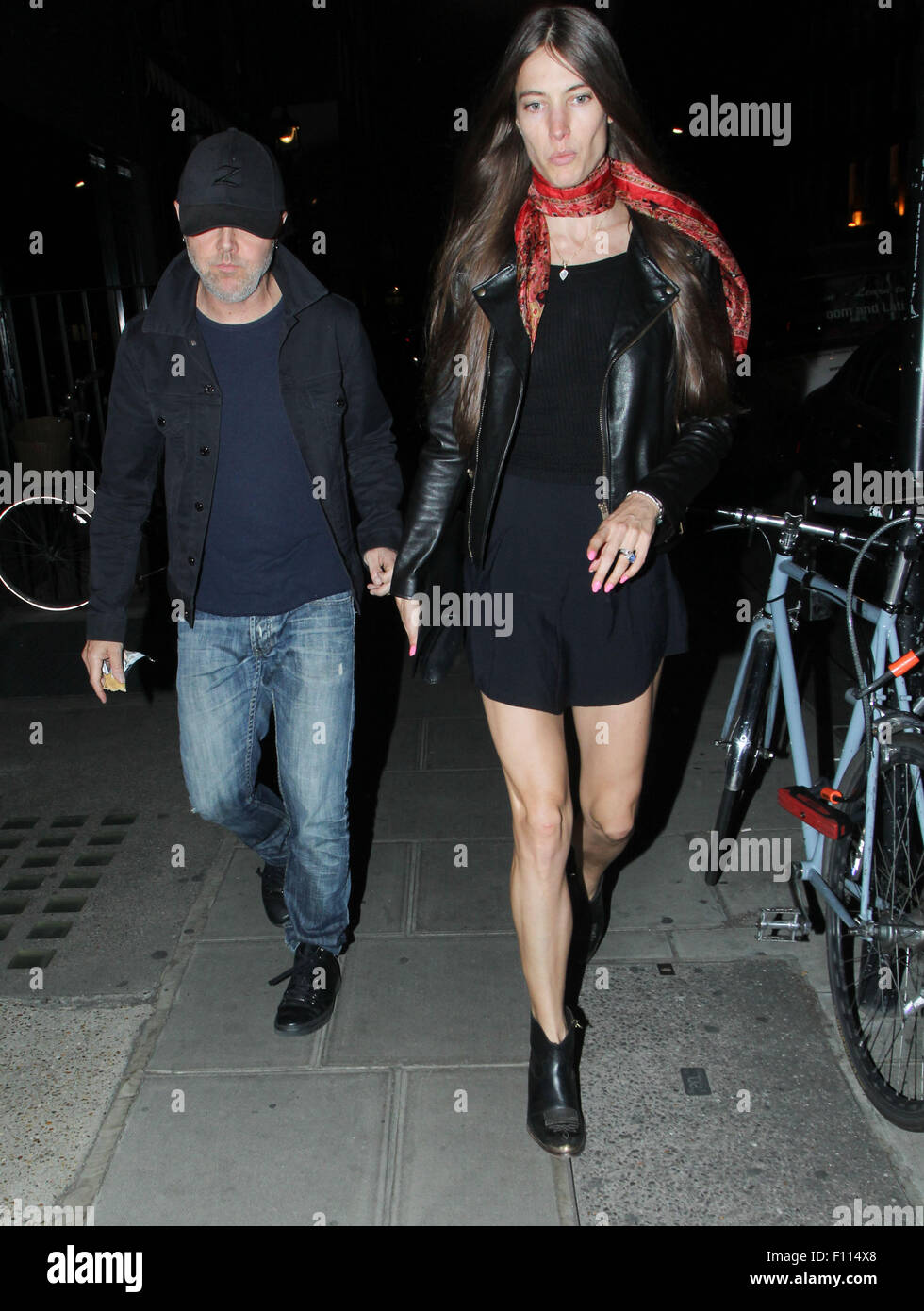 Celebrities at Chiltern Firehouse Featuring: Lars Ulrich ...