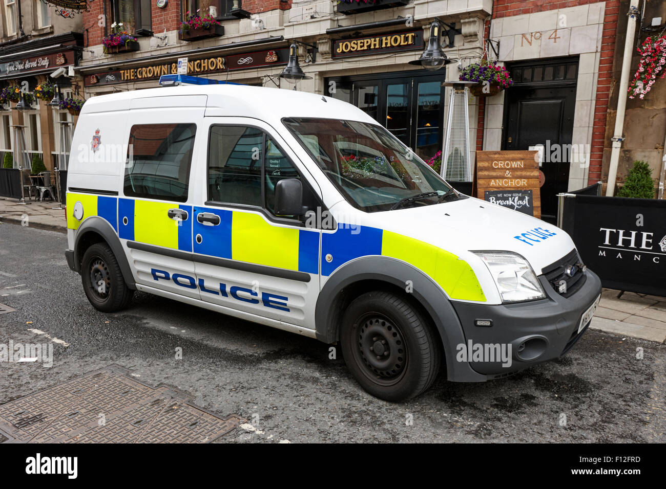 greater Manchester police patrol small van ford transit connect uk