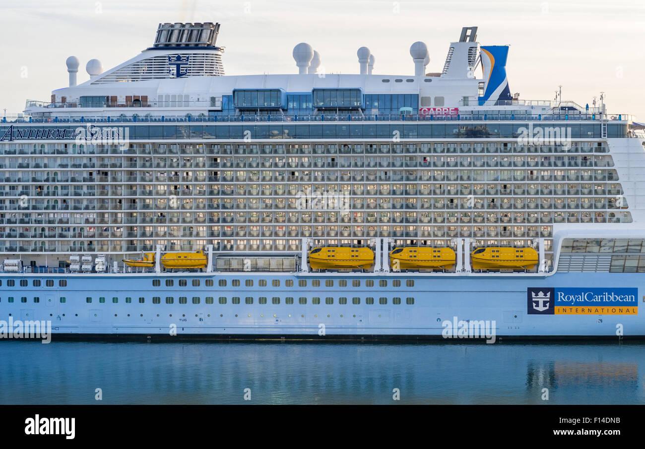 Royal Caribbean International Cruise Ship Anthem Of The Sea - Anthem of the seas cruises