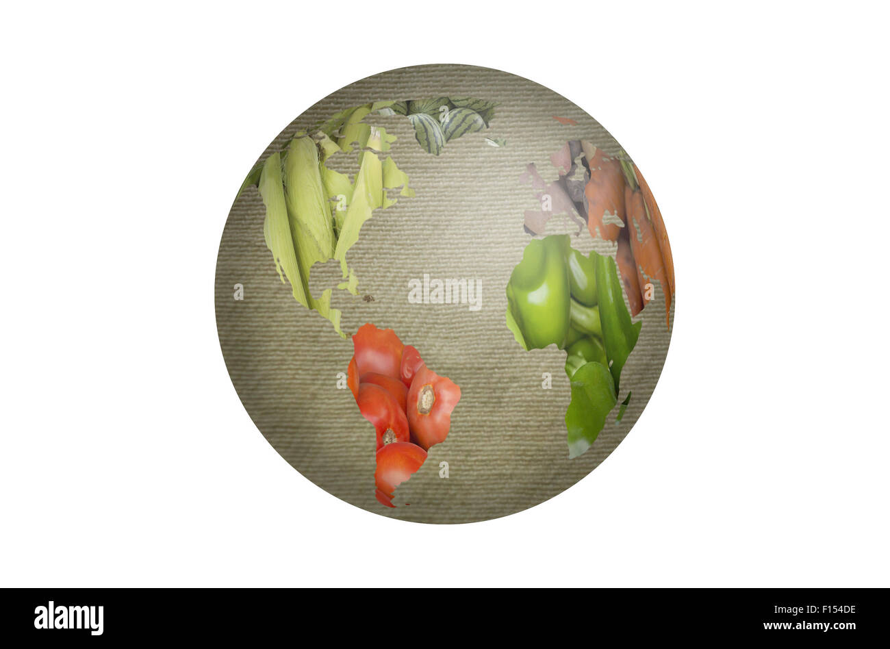 World map collage of lots of popular fruits and vegetables stock world map collage of lots of popular fruits and vegetables gumiabroncs Image collections