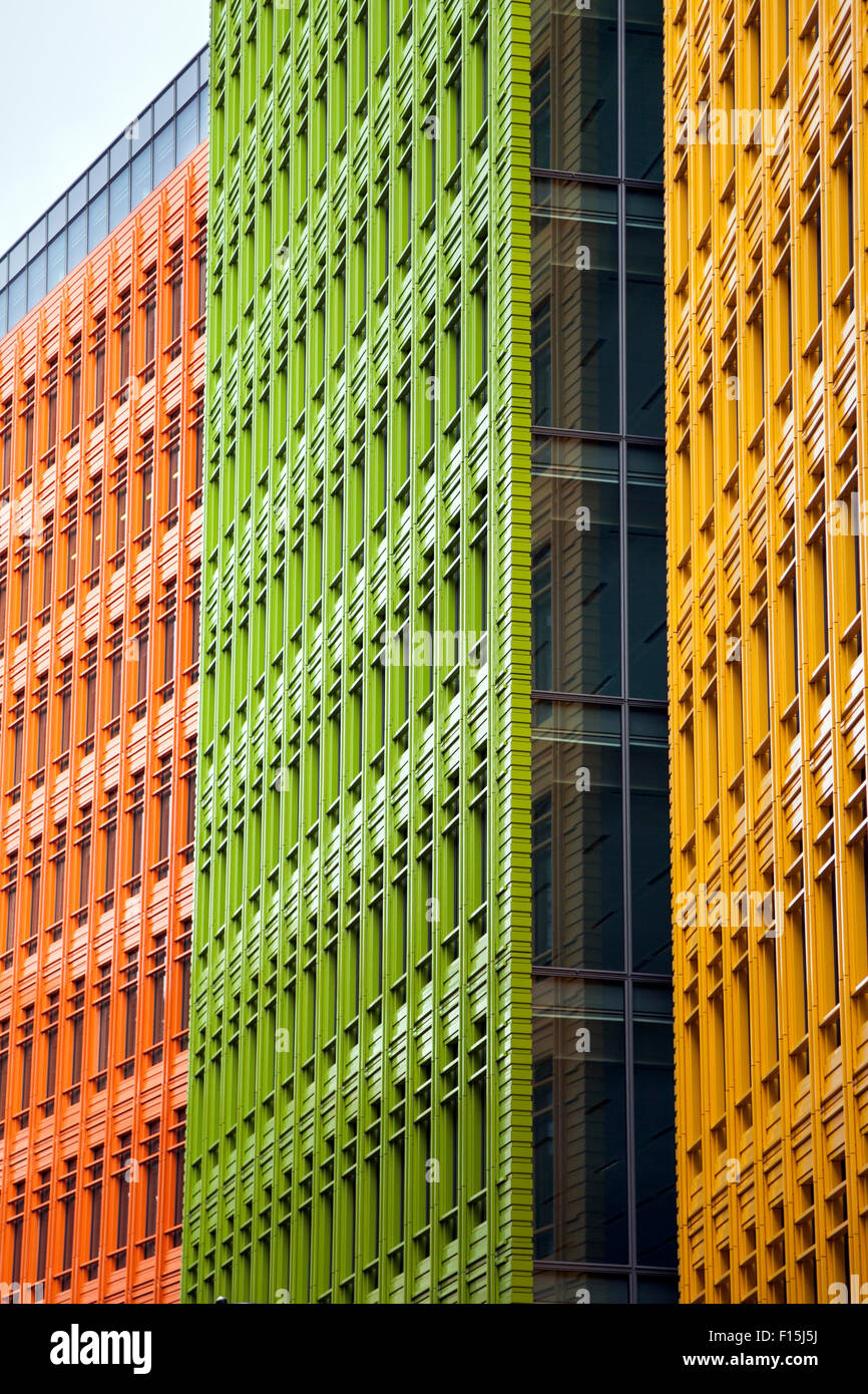 google london offices central st. Colourful Modern Building Facades (Central Saint Giles, London, UK) - Stock Image Google London Offices Central St I