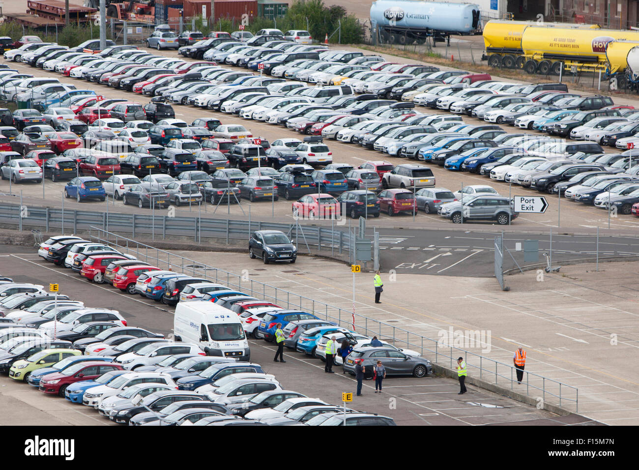 Car Parking At Southampton Docks Herbert Walker Ave Mayflower - Southampton cruise ship parking