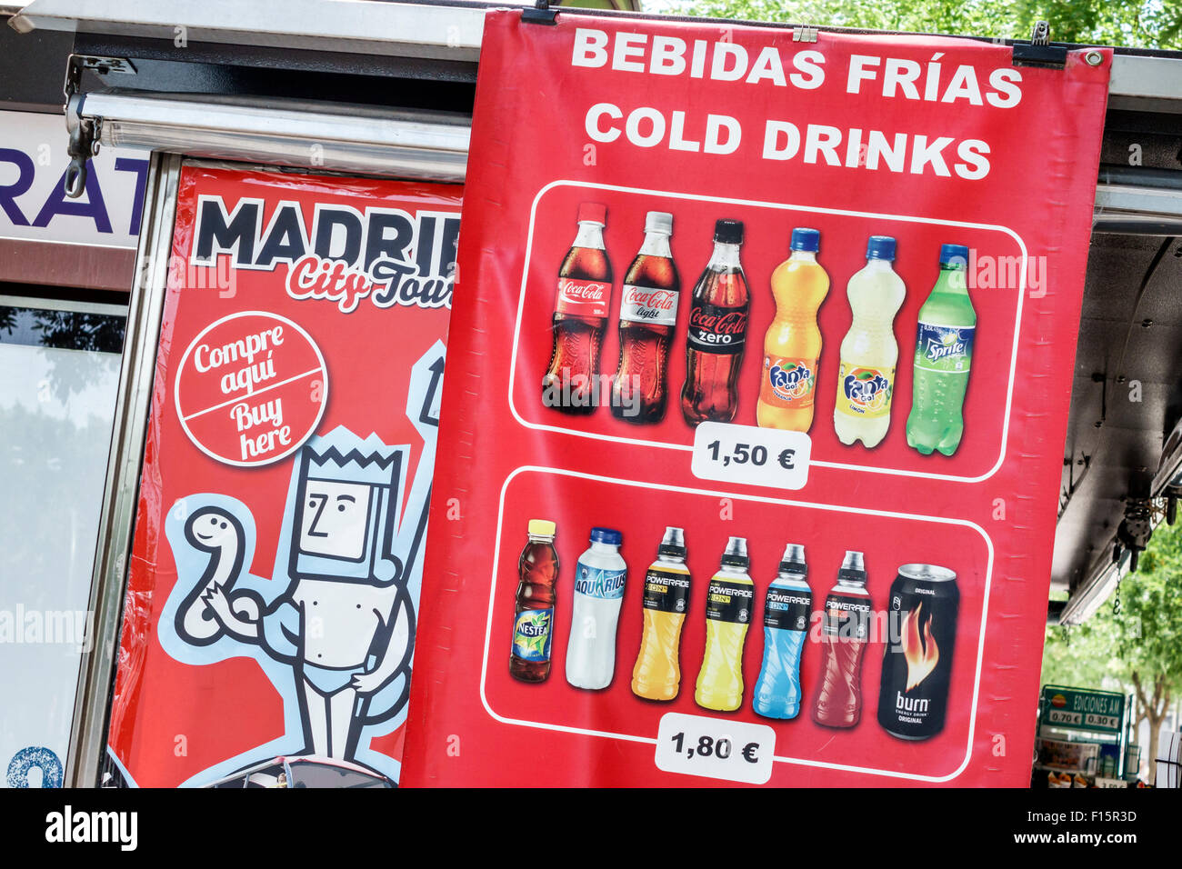 soft drinks spanish