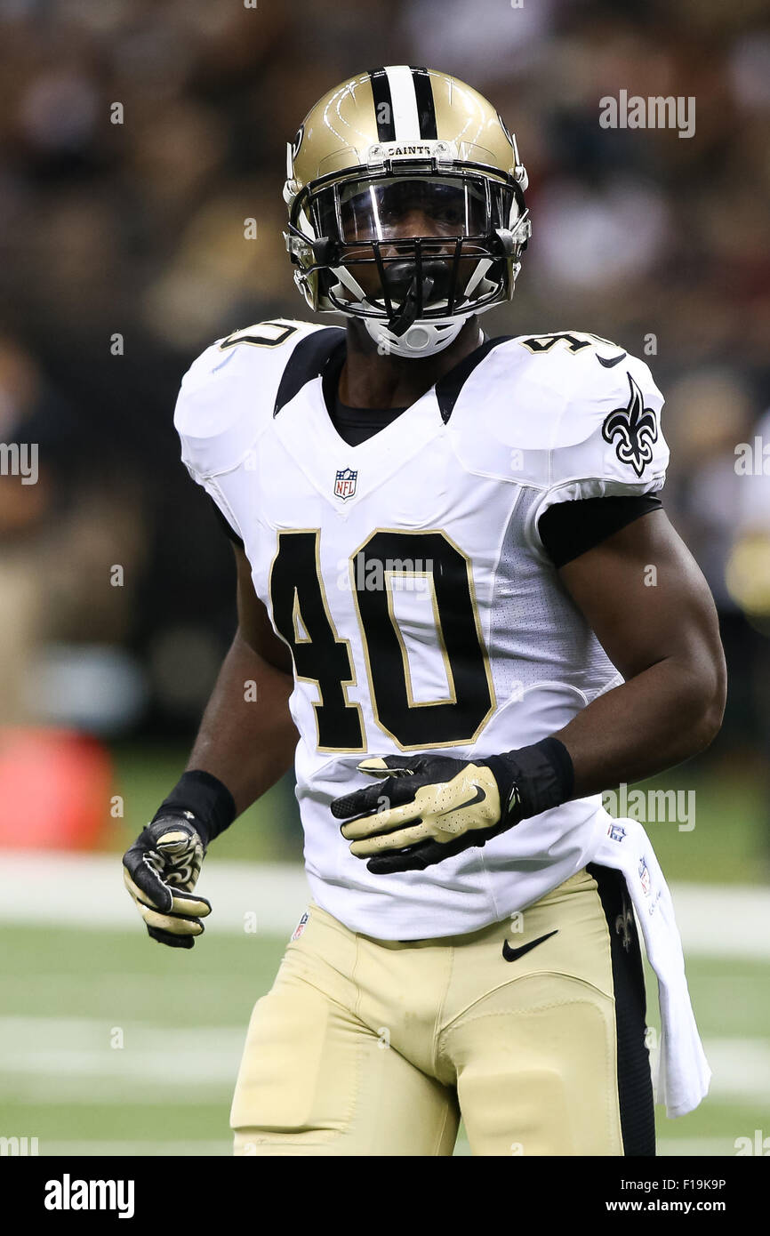New Orleans Lousiana USA 30th Aug 2015 New Orleans Saints