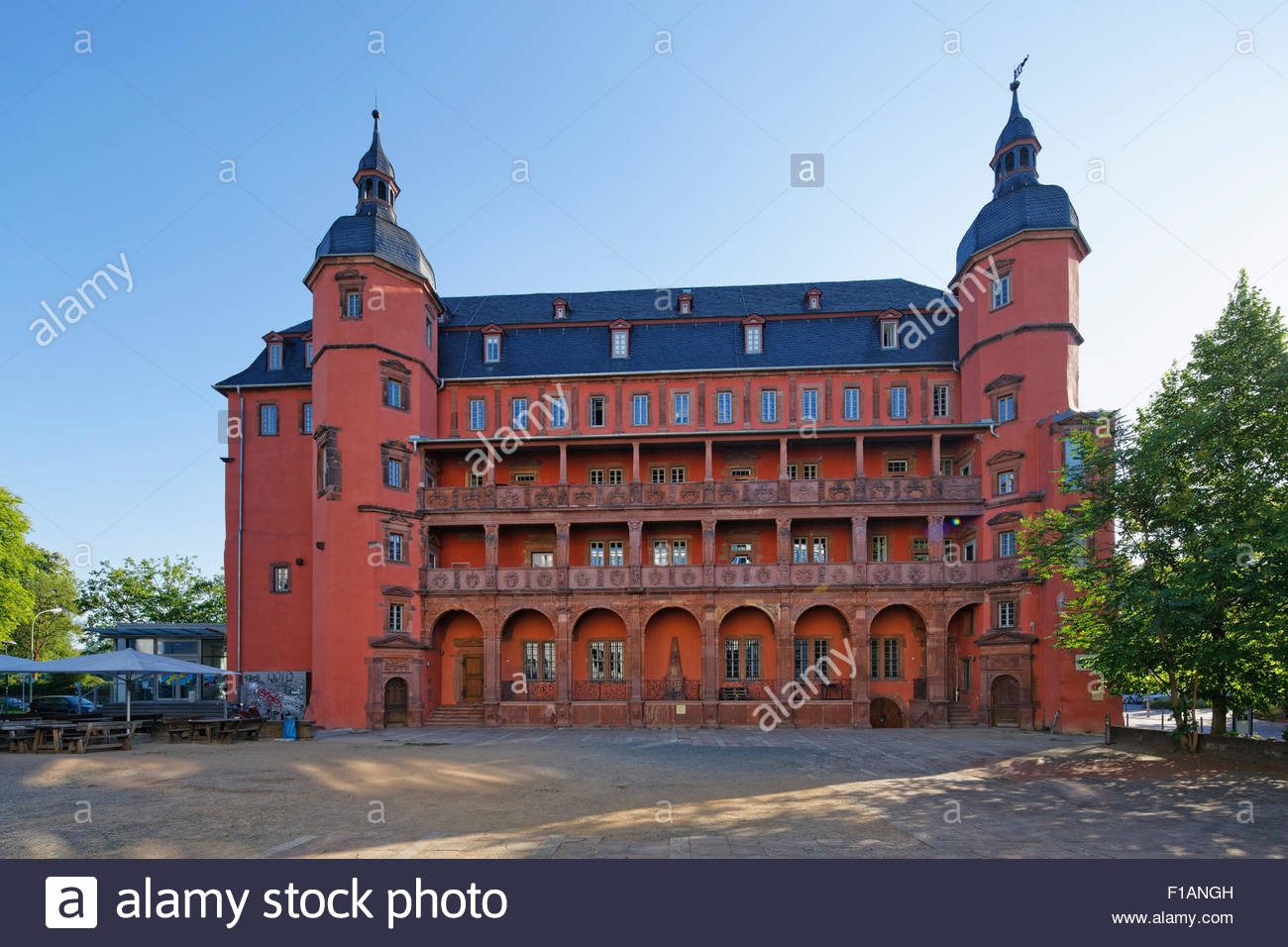 Germany hesse offenbach am main isenburg castle stock for Werbeagentur offenbach am main