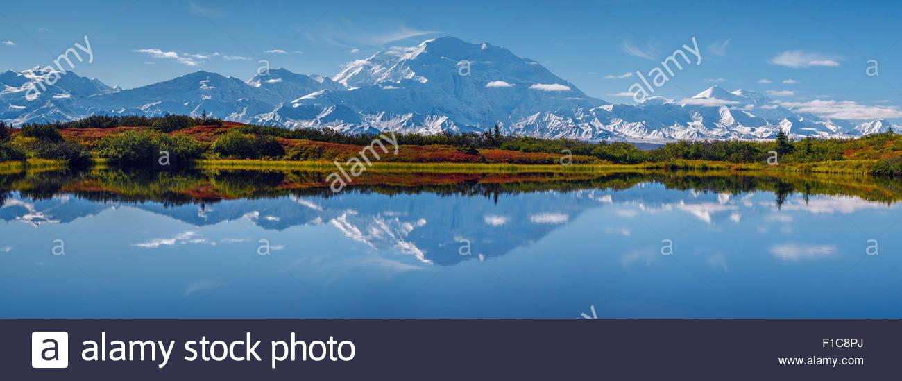 alaska-mount-mckinley-and-reflection-pon