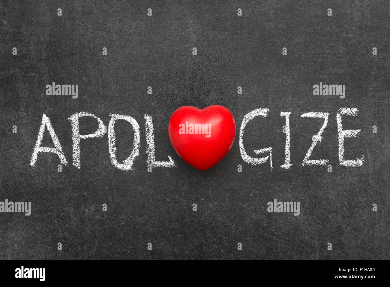 Apologize word handwritten on blackboard with heart symbol instead apologize word handwritten on blackboard with heart symbol instead of o biocorpaavc