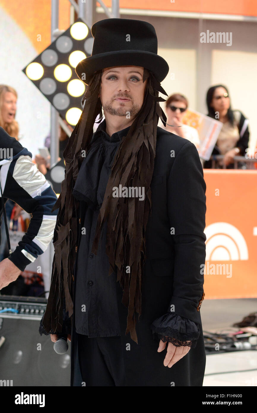 Boy George performs live on NBC's 'Today' Show Featuring ...