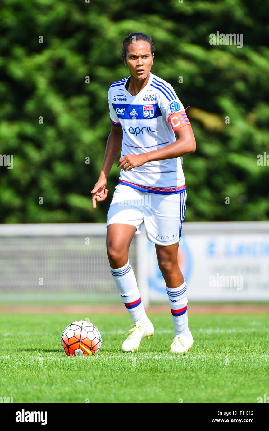 Wendy renard interview - Wendie Renard 30 08 2015 Vga Saint Maur Lyon 1eme Journee De