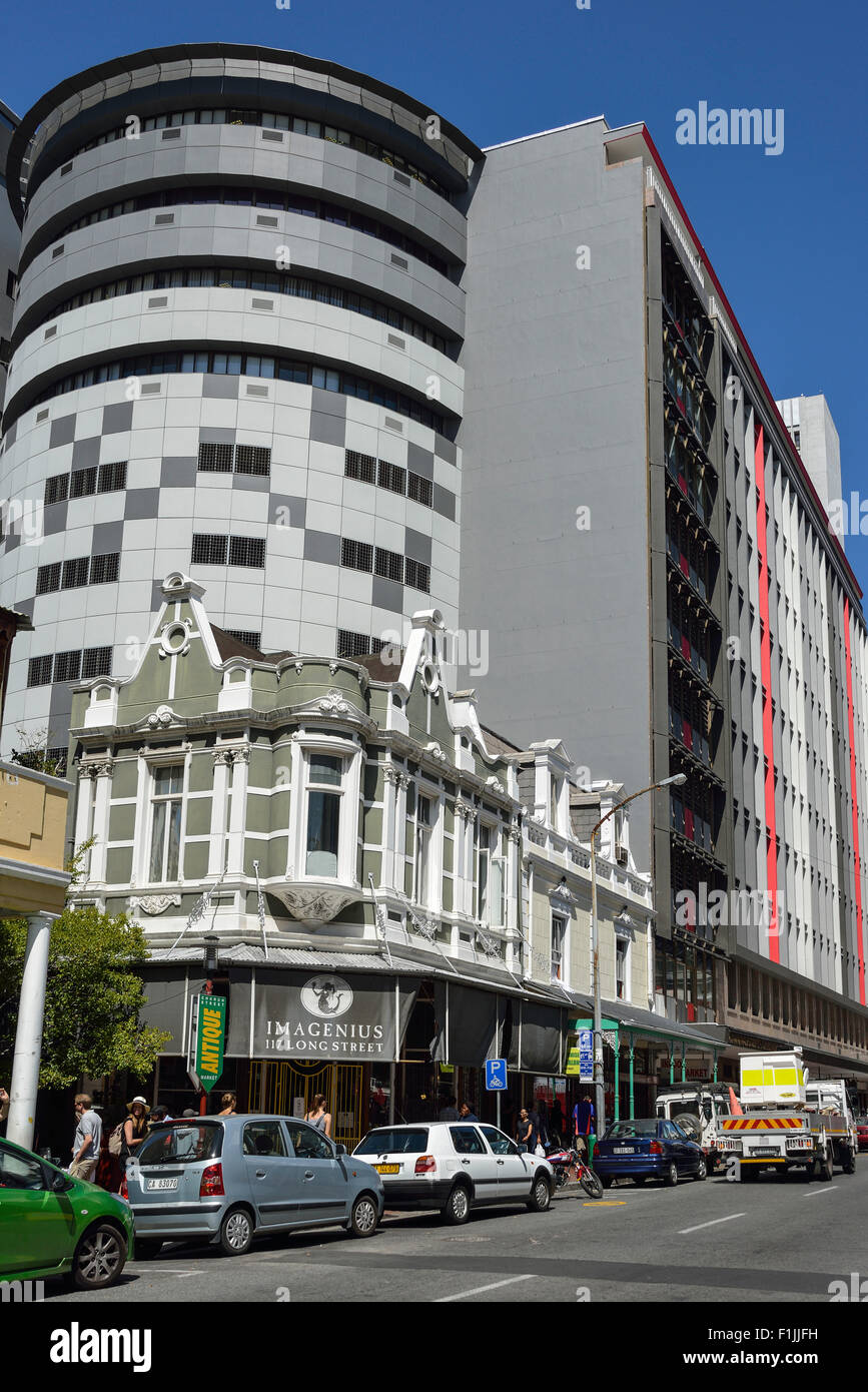 Modern Architecture In South Africa old and modern architecture, long street, cape town, western cape