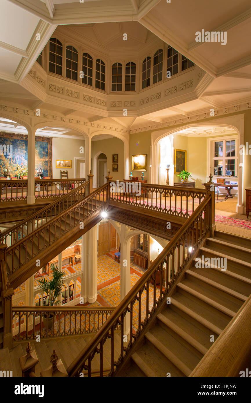 grand staircase interior home stock photos & grand staircase