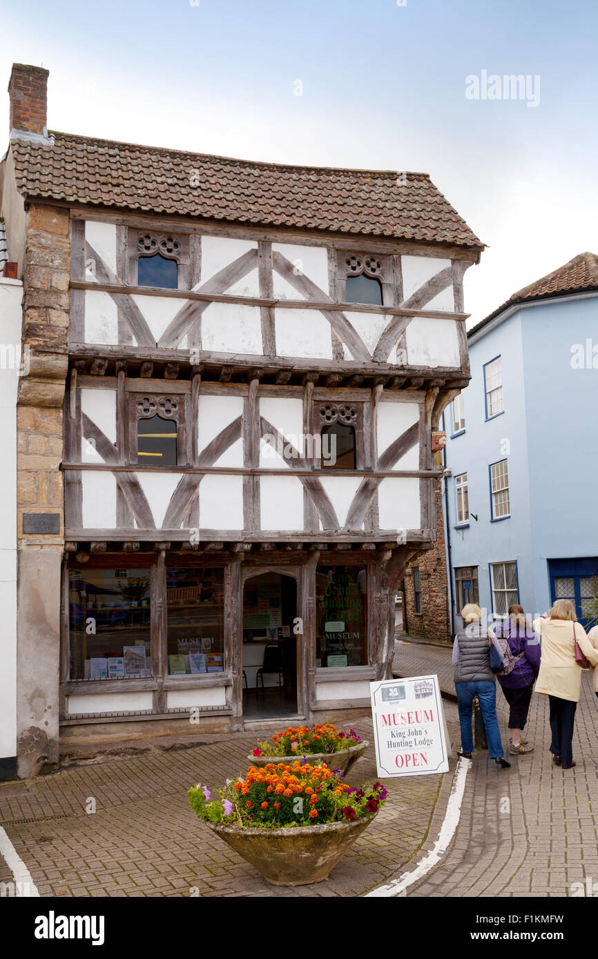 King Johns Hunting Lodge Museum The Medieval Town Of Axbridge Somerset UK