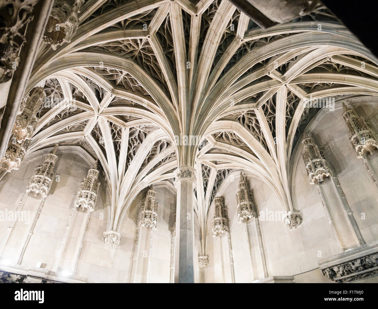Flamboyant Gothic Ceiling At The Cluny Of Chapel In Museum Is A Study An Exuberant Style