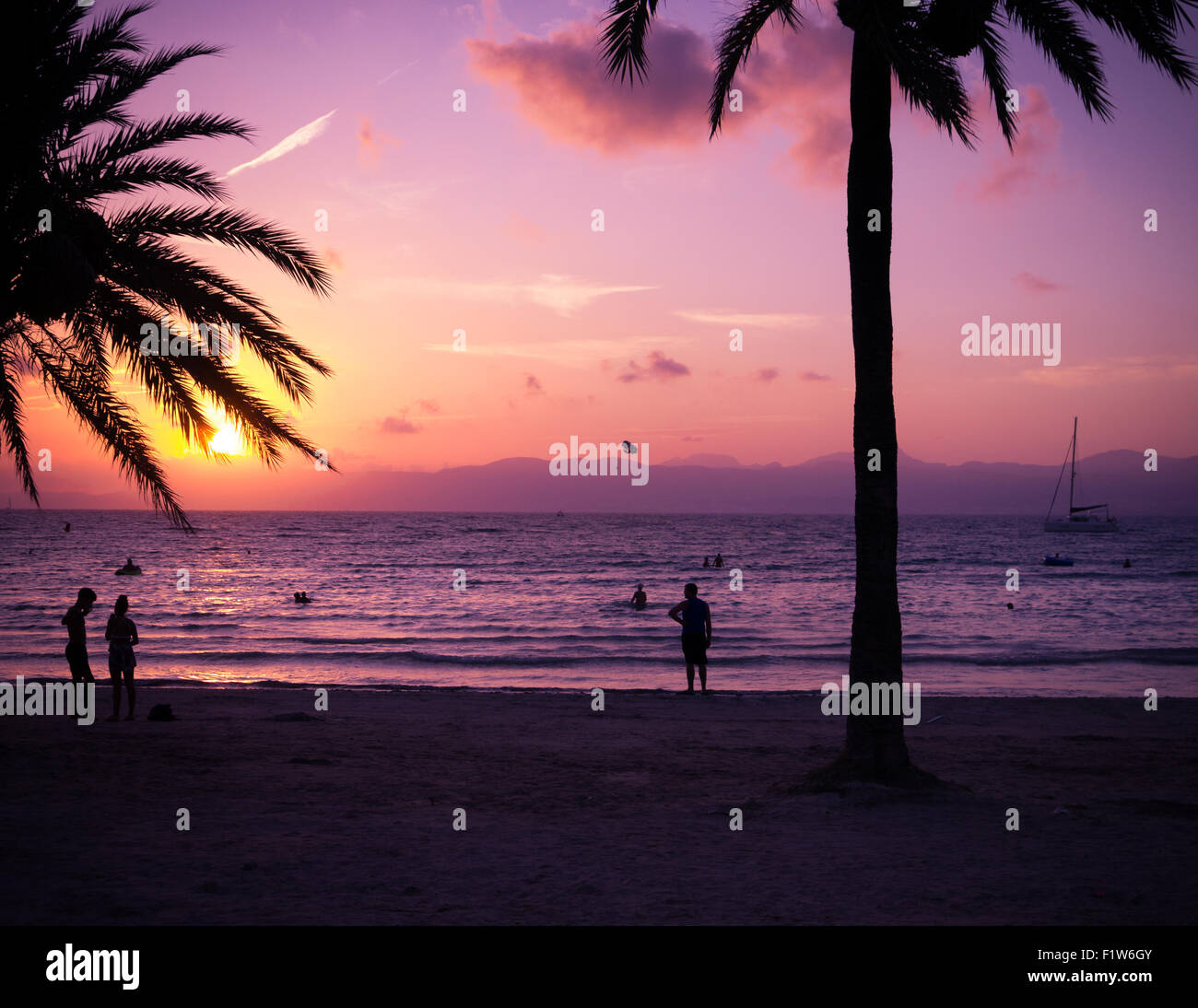 sunset-over-the-bay-of-palma-as-seen-fro