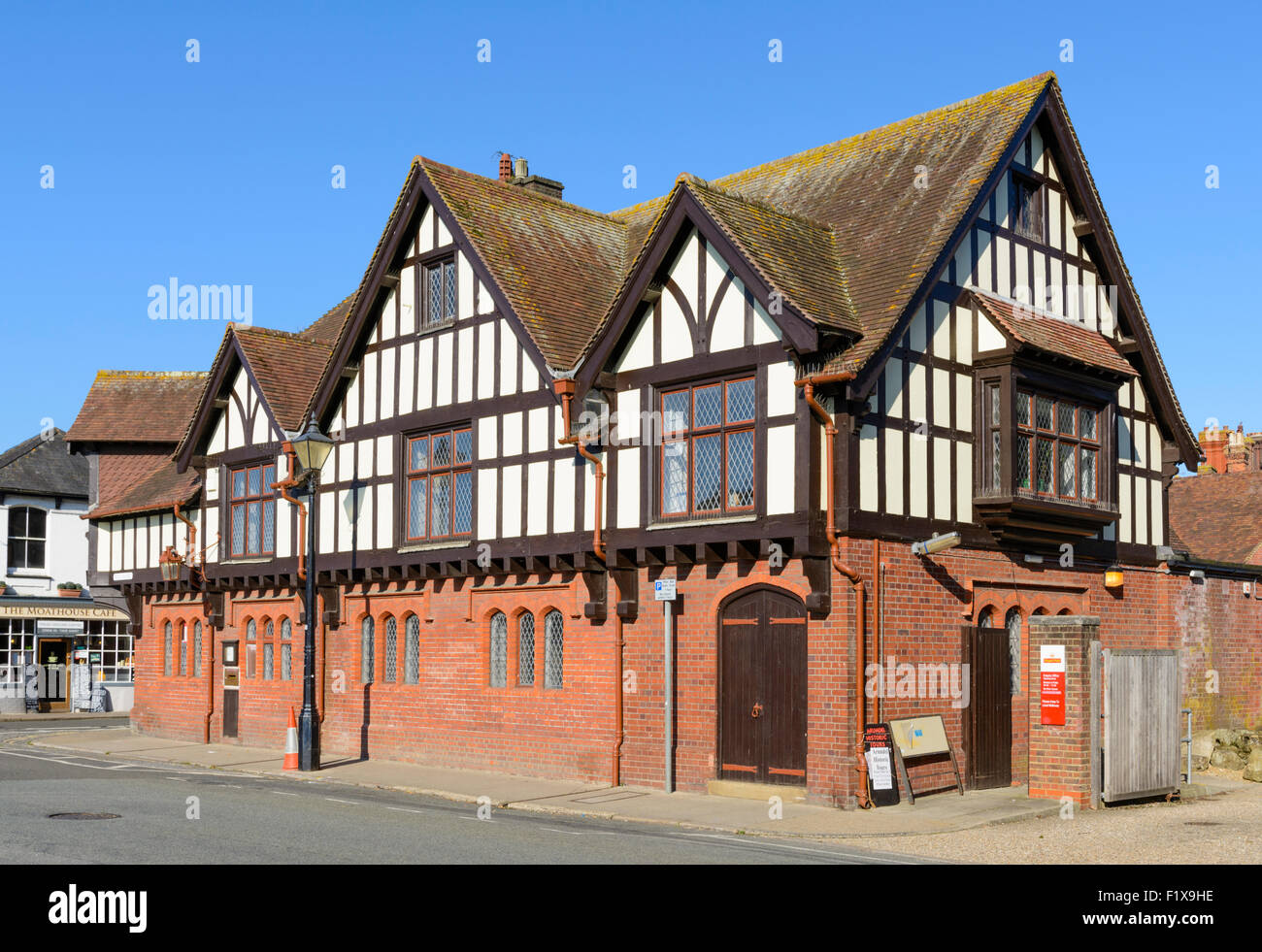 Tudor Style the post office, a mock tudor style building in the historic