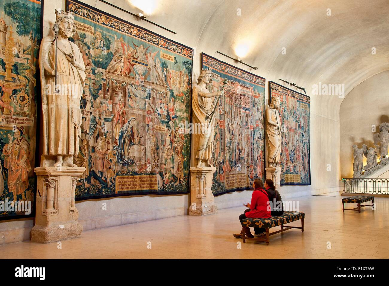 France, Marne, Reims, Palais du Tau, listed as World Heritage by ...