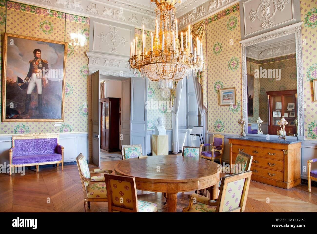 France, Yvelines, Maisons Laffitte, the castle Stock Photo ...