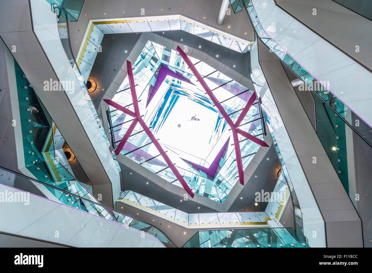 The cube interiors birmingham stock photo royalty free image 87265820 alamy for Cube interiors
