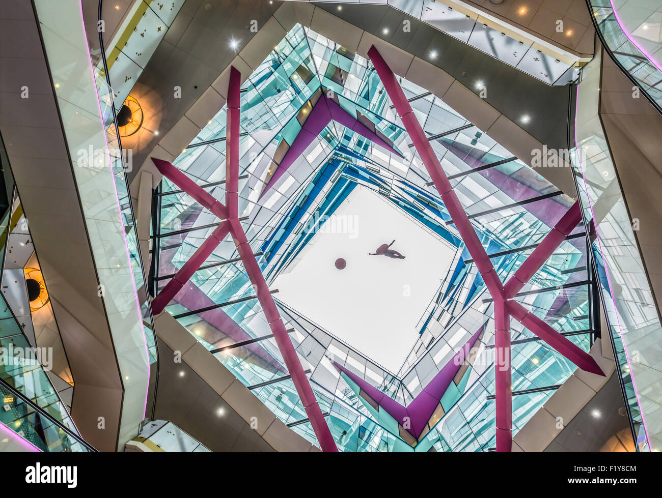 Cube Interiors Of The Cube Interiors Birmingham Stock Photo Royalty Free Image 87265828 Alamy