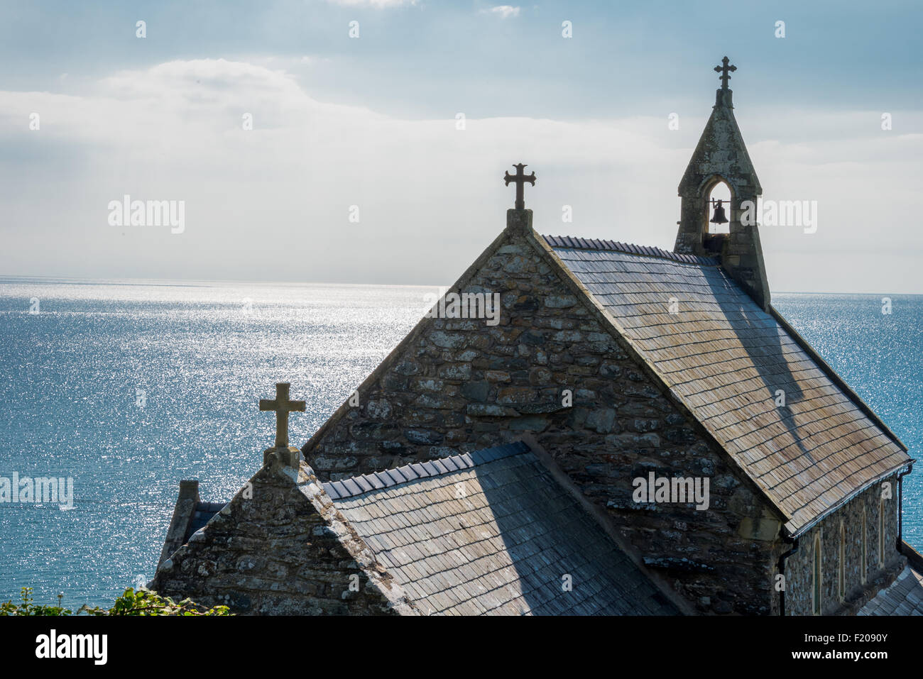 st-bodfans-and-st-marys-church-barmouth-