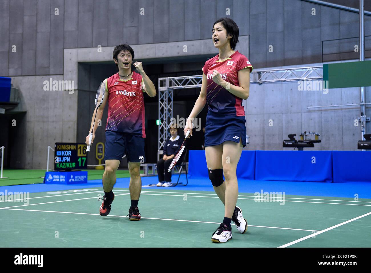 Tokyo Metropolitan Gymnasium Tokyo Japan 9th Sep 2015 Kenta