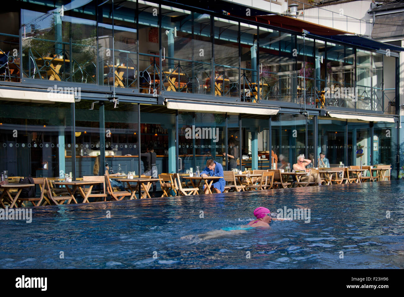 The Lido Spa Restaurant Clifton Bristol Which Includes A Stock Photo Royalty Free Image