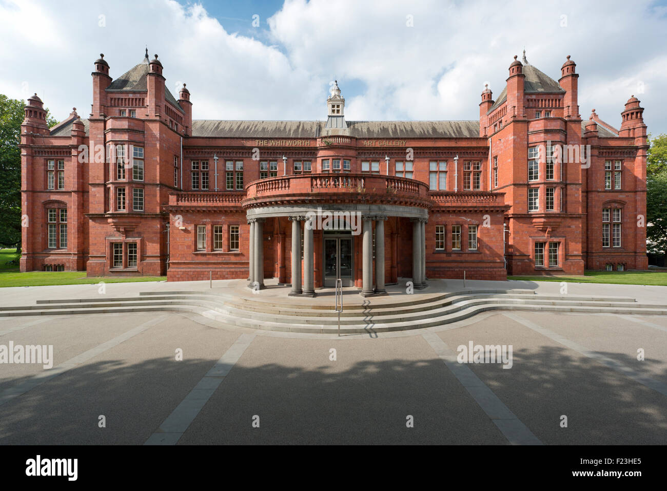The Recently Refurbished Whitworth Art Gallery Located On The - Where is oxford located