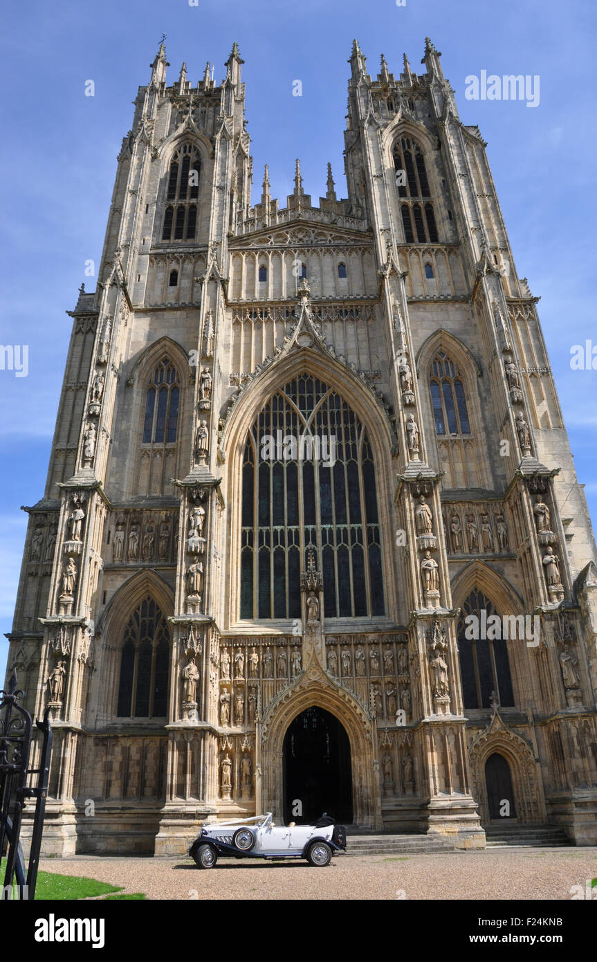 Beverley Minster Huge Medieval Cathedral In Yorkshire Uk With
