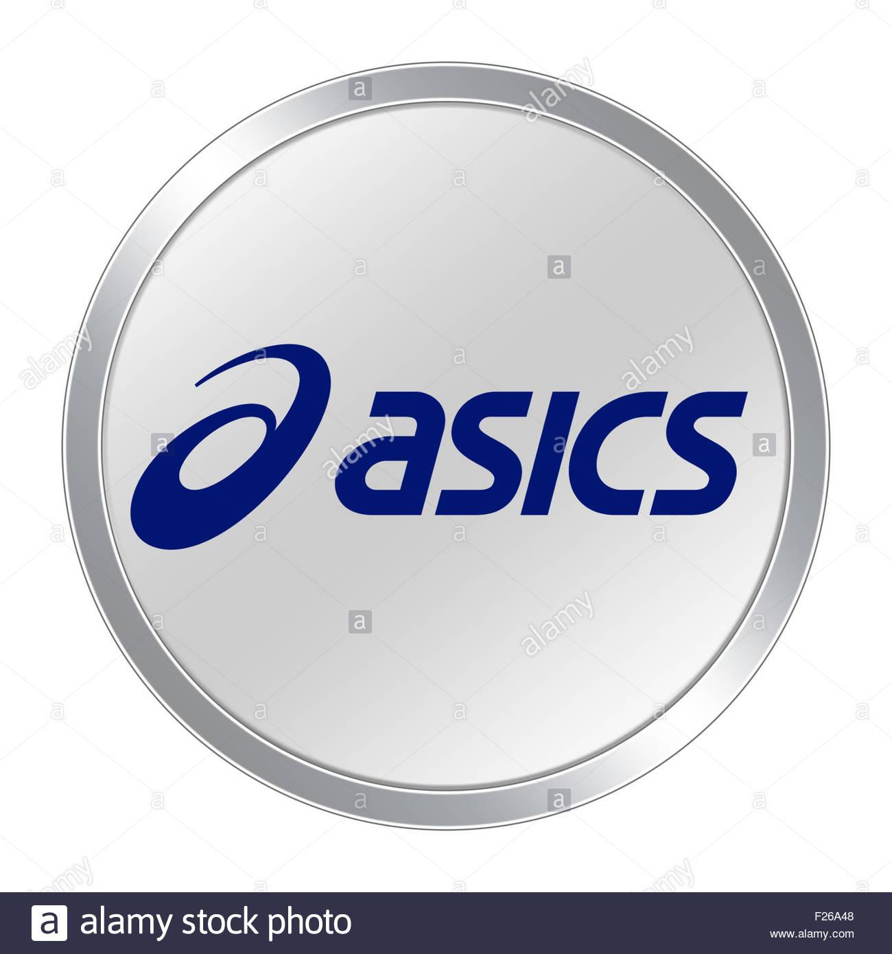 Asics logo icon stock photo 87420824 alamy asics logo icon buycottarizona Images