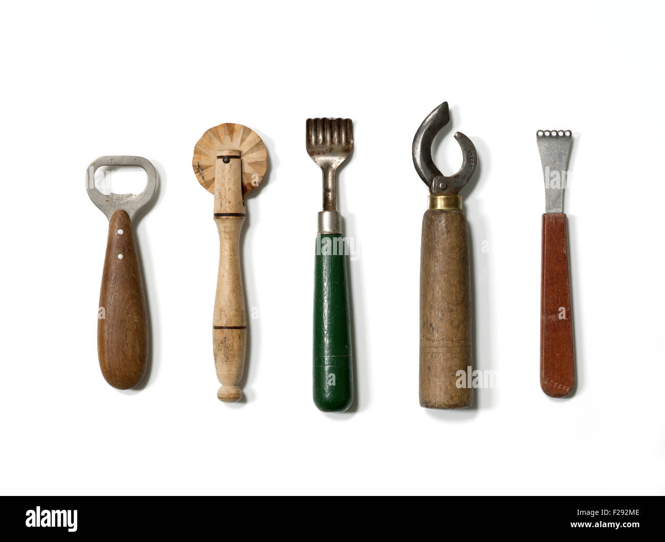 Stock Photo   Vintage KItchen Tools Or Gadgets