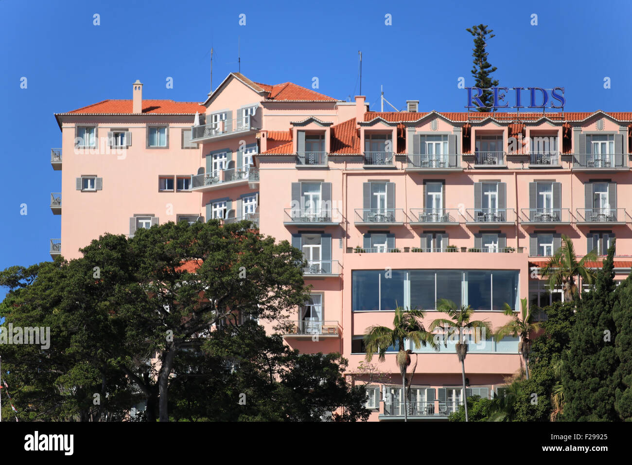 belmond reid 39 s palace hotel funchal madeira portugal often called stock photo royalty free. Black Bedroom Furniture Sets. Home Design Ideas