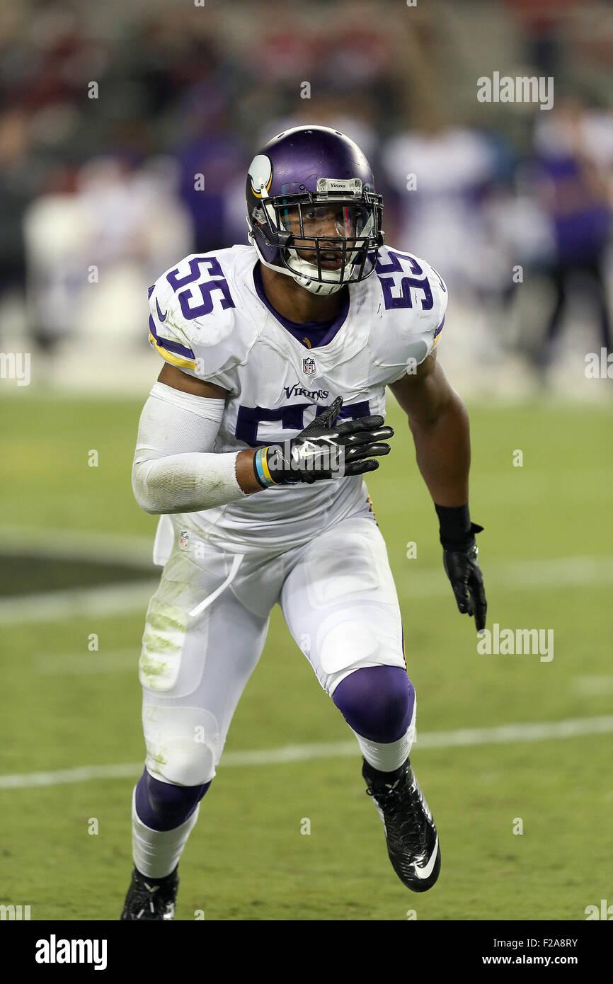 14 September 2015 Minnesota Vikings linebacker Anthony Barr