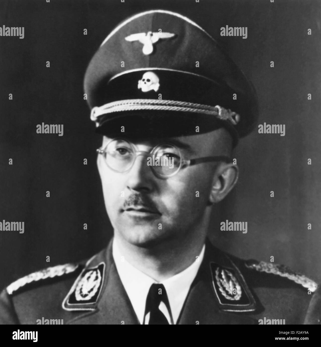 Heinrich Himmler, Leader Of The Nazi Germany's Elite