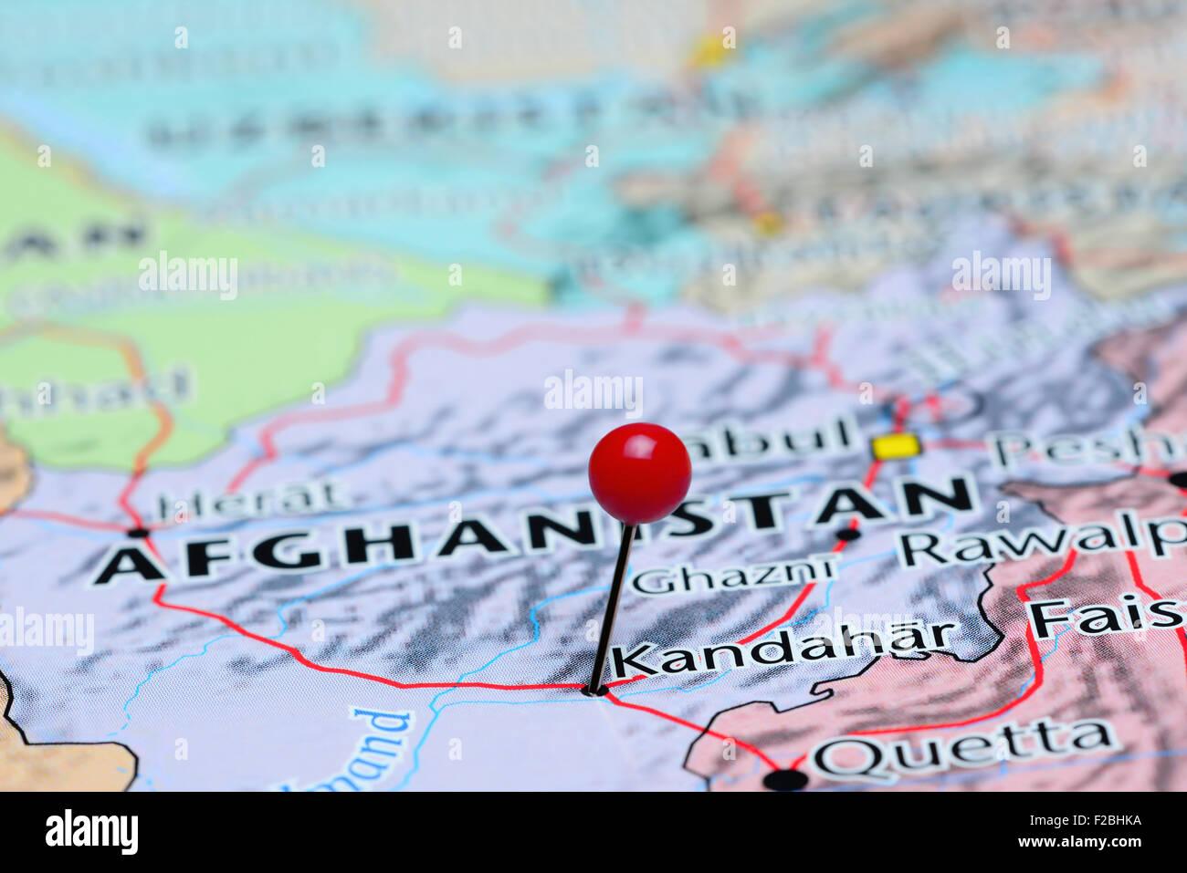 Kandahar World Map