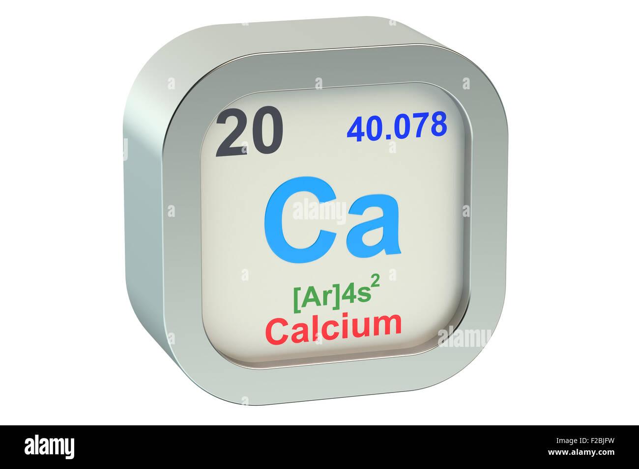 Calcium element isolated on white background stock photo royalty calcium element isolated on white background buycottarizona