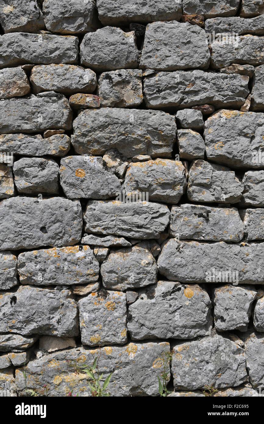 Large Stone Blocks : Large grey stone block wall stock photo royalty free